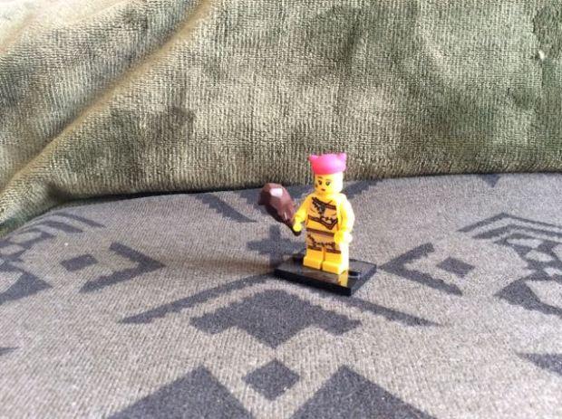 Lego cavewoman