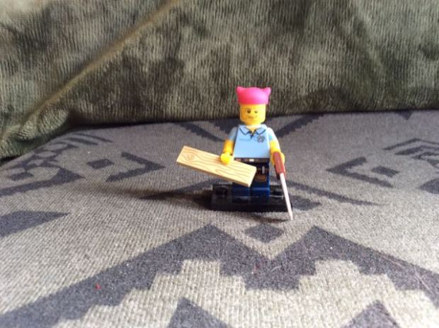 blurry lego builder ally